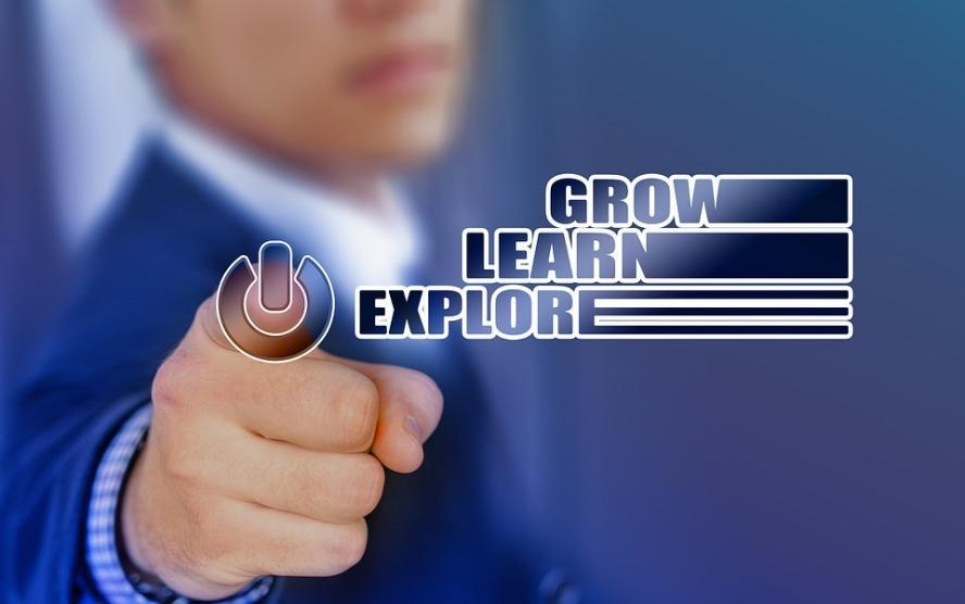 Company, Hand, Internet, Touch, Technology, Learn, Grow