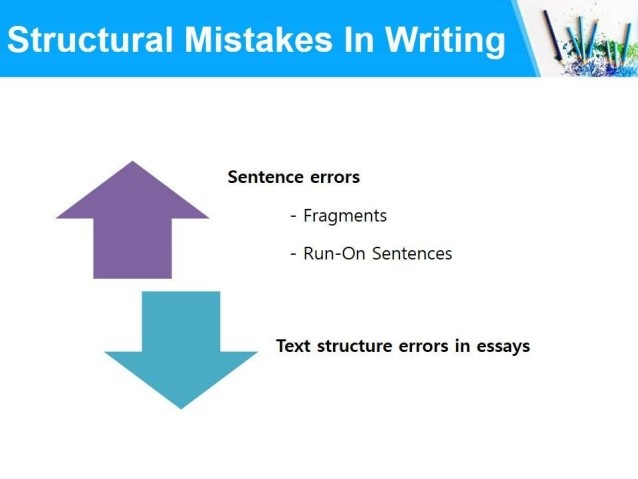 Image result for structural mistakes in writing
