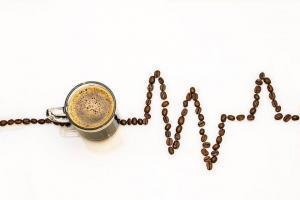 Coffee Cup, Coffee, Cup, Coffee Beans, Ecg, Coffee Foam